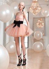 Rózsaszín szoknya ruha