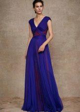 Grekisk klänningblå