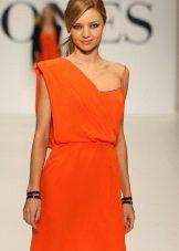 Grekisk klänningorange