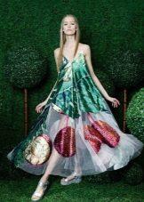 Klänning väska med tryck