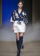 Kimono klänning kort