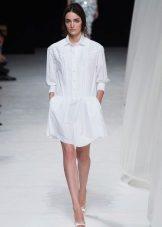 Klänningskjorta vit