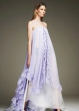 Lilac klänning väska