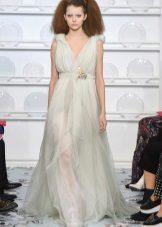 Grekisk klänning från Schiaparelli till golvet