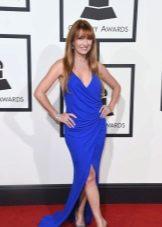 Grammy - 2016 ruha kék vágással