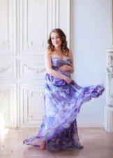 Люляк рокля за бременни