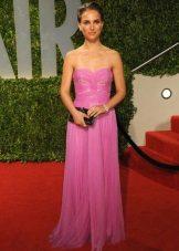 Egnet kjole til kvinder af farvetype Efterår - Natalie Portman