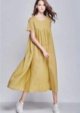 Sinappi Linen Pitkä mekko