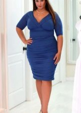 Vestit d'oficina blau complet