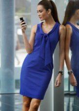 Blue dress case