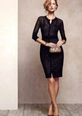 Beautiful black dress case