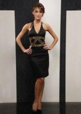 Harmaa mekko, keskipitkä, amerikkalainen käsivarsi