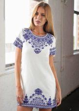Shift pamut ruha etnikai nyomtatással