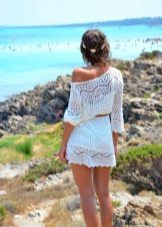 Beach-dress-tunica cu centura