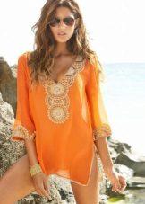 החוף השמלה טוניקה