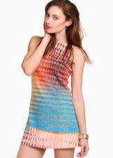 השמלה טוניקה רב צבעוניים