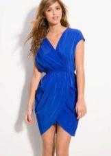Kék tulipán ruha
