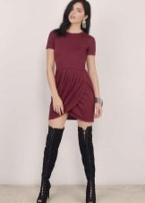 Tulip Short Dress Treads