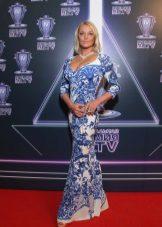 Dress for the Inverted Triangle type figure - Anastasia Volochkova