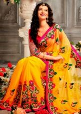 Yellow Wedding Saree