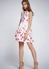 Suknelė žirnių
