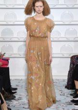 Pavasario suknelė šifono grindyse