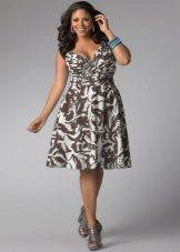 Suknelė su išspausdintais