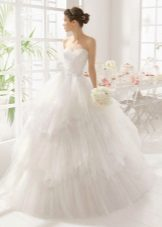 Layered Wedding Dress