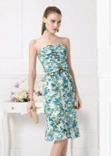 """Pavasario suknelė iš """"Air Barcelona"""" spalvos"""