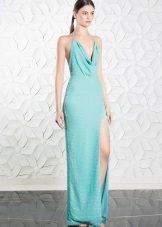 Suknelė su plyšiu
