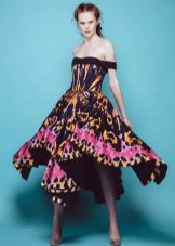 Pavasario suknelė spalvinga