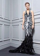 Pavasario suknelė su tigro spauda