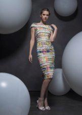 Лятна рокля миди случай