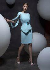 Лятна рокля с баски