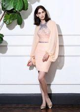Лятна рокля с широк ръкав