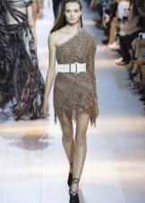 Лятна рокля с асиметрия