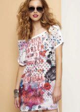 Vestido de verão colorido