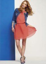 Дамско яке за лятна рокля