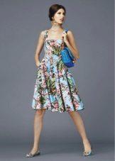 Лятна рокля къса