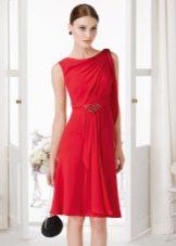 Многослойна лятна рокля Chanel