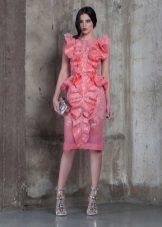 Vestido de verão rosa