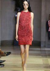 Бургундска рокля