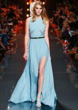 Silk Slit Dress
