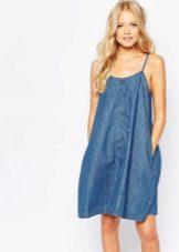 Jeans vestido de verão