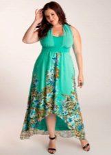 Лятна рокля за пълно
