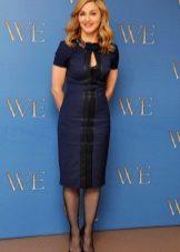 Лятна рокля за жени 50-годишна обвивка