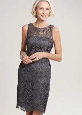 Лятна рокля за жени 50 години