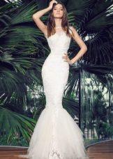 Vestido de verão sereia casamento