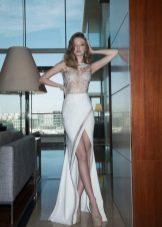 Лятна сватбена рокля с цепка