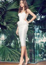 Сватбена рокля Миди